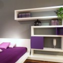 bedroom design , 10 Good Bedroom Wall Shelving Ideas In Bedroom Category