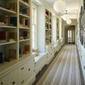 bookcase lined hallway , 11 Stunning Hallway Carpet Ideas In Others Category