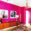 design interior paint , 8 Cool Hot Pink Interior Paint In Interior Design Category