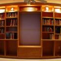 finished bookshelf , 10 Stunning Lighting For Bookshelves In Lightning Category