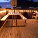 landscape design , 8 Sunning Balcony Lighting Ideas In Lightning Category