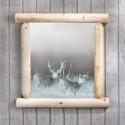 mule deer mirror , 8 Awesome Unusual Bathroom Mirrors In Bathroom Category