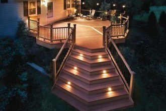 587x411px 8 Sunning Balcony Lighting Ideas Picture in Lightning