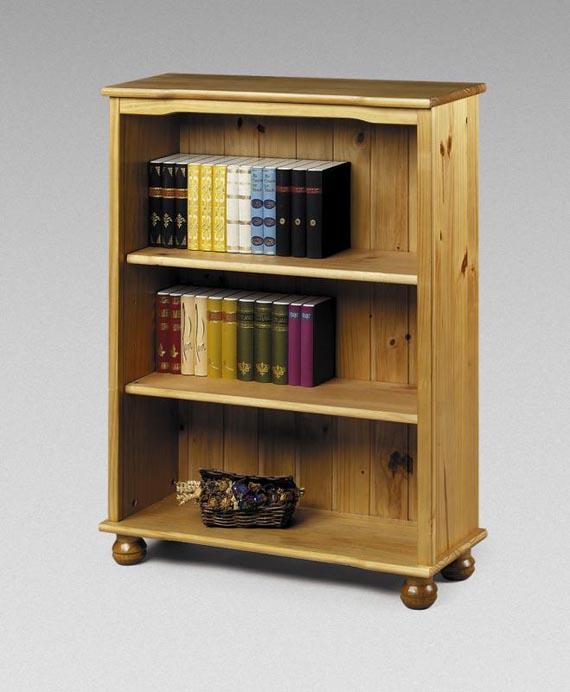 Furniture , 10 Cool Bookcase Designs : solid antique pine charming bookcase design