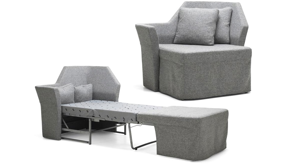 Awesome Furniture , 10 Unique Tiny Sofas : An Incredibly Tiny Sofa Bed