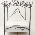 Anthropologie Forest Canopy Bed , 8 Popular Forest Canopy Bed Frame In Bedroom Category