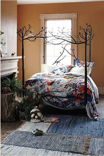 Bedroom , 10 Popular Forest Canopy Bed : Anthropologie Forest Canopy Bed