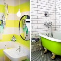 Bathroom Neon Green Yellow , 8 Top Neon Green Paint For Walls In Interior Design Category