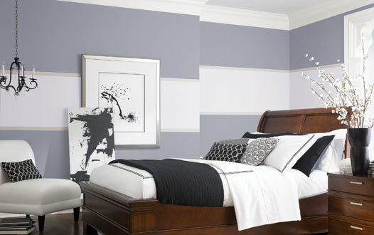 Bedroom , 9 Charming Paint Ideas For Bedroom Walls : Bedroom Decorating Ideas