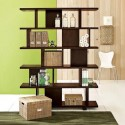 Best design built in contemporary bookshelves , 10 Fabulous Lights For Bookshelves In Furniture Category
