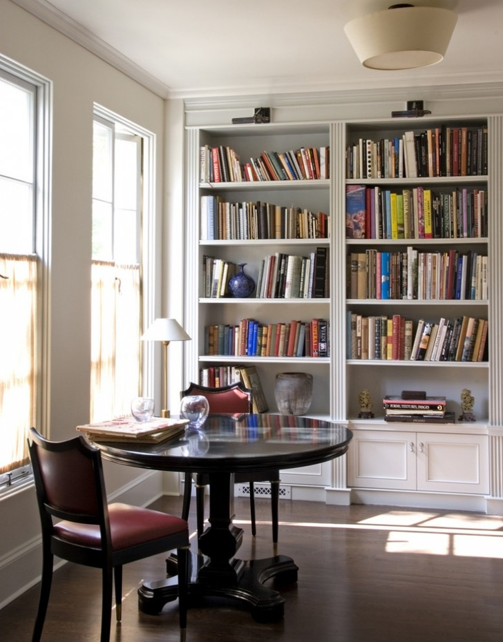 Furniture , 10 Fabulous Lights For Bookshelves : Black lights for bookshelves
