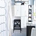 Blue White Small IKEA Bathroom Design Idea , 9 Superb Bathroom Ideas Ikea In Bathroom Category