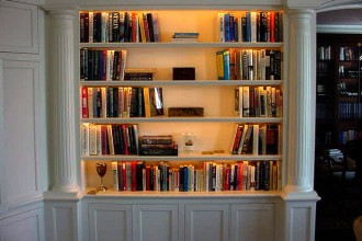 640x480px 9 Hottest Bookshelf Lighting Picture in Furniture