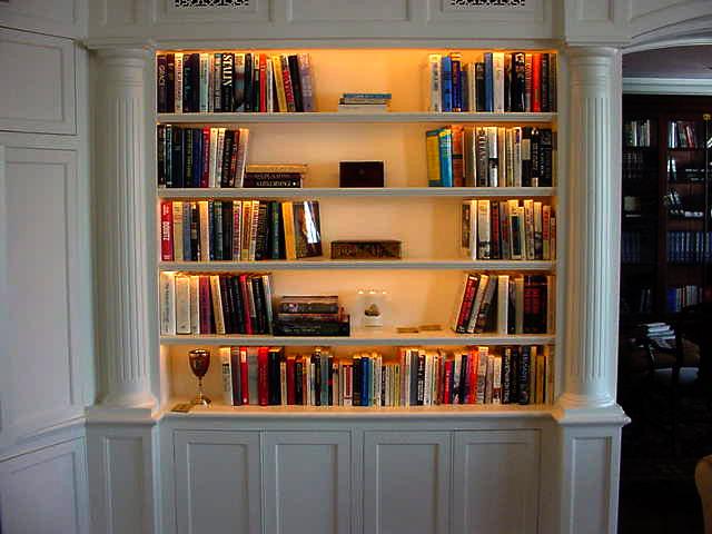 Furniture , 9 Hottest Bookshelf Lighting : Bookcase Lighting Tips