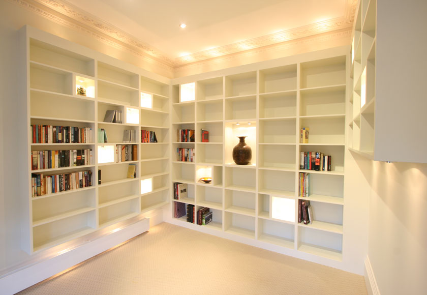 wooden bookcase and cabinet white down on chrome the recessed big light for bookshelf metal round warm borders lighting with attractive storage elegant lamp book