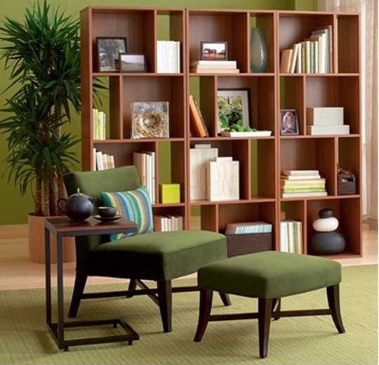Furniture , 8 Unique Bookcase Room Dividers Ideas : Bookcase Room Divider Ideas Image