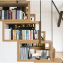 Compact bookshelves , 10 Best Staircase Bookshelves In Furniture Category
