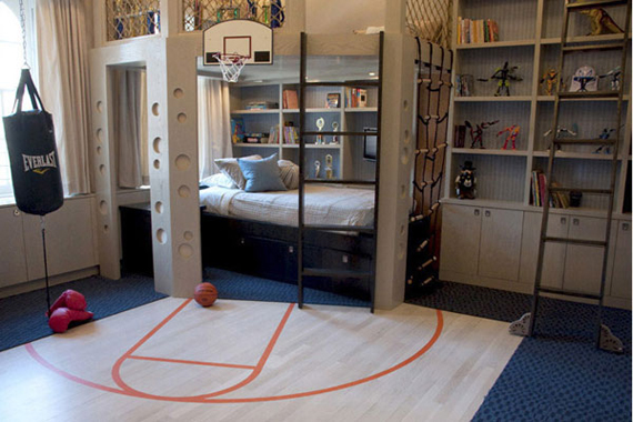 Interior Design , 9 Popular Boys Decorating Ideas Bedroom : Complete entertainment