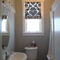 Custom Furnishings , 6 Lovely Small Bathroom Window Curtains In Interior Design Category