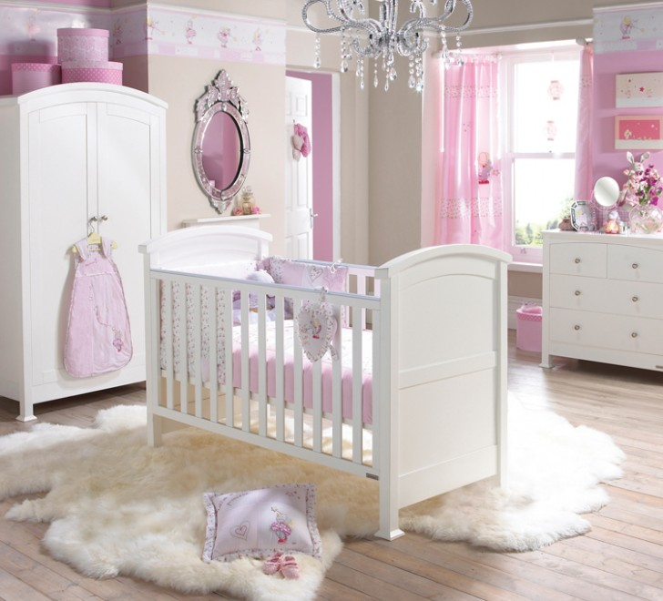 Bedroom , 7 Cool Baby Girls Bedroom Decorating Ideas : Decorating ideas for baby girls bedroom