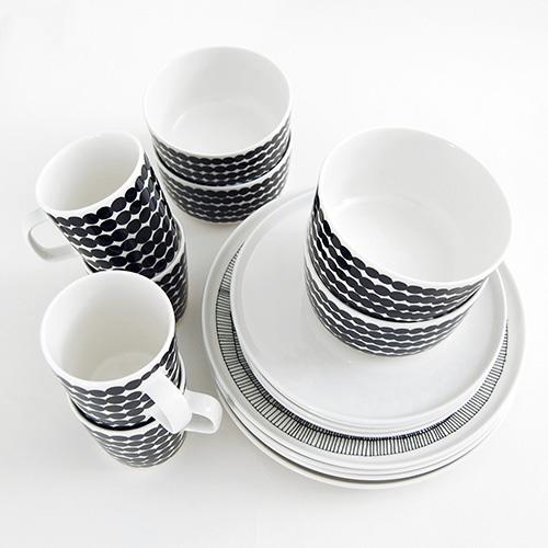 Others , 9 Superb Marimekko Dishes : Dinnerware Set