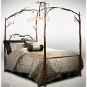 Enchanted forest beds , 8 Popular Forest Canopy Bed Frame In Bedroom Category
