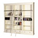 Esterel Library Bookcase , 8 Ultimate Cream Bookshelves In Furniture Category
