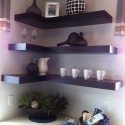 Floating shelves for small spaces , 9 Amazing Bookshelves For Small Spaces In Furniture Category
