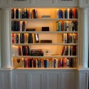 Functionality and Aesthetic Bookcase Lighting , 10 Awesome Bookshelves With Lights In Furniture Category