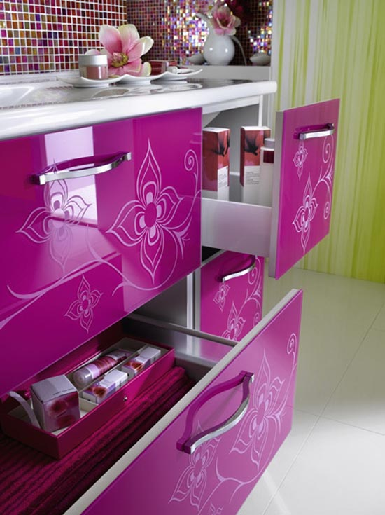 Furniture , 9 Gorgeous Girly Furniture : Girly Bathroom Furniture