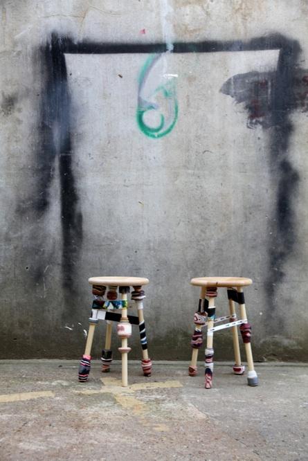 Furniture , 7 Awesome Harlequin Furniture : Harlequin Paper Stools