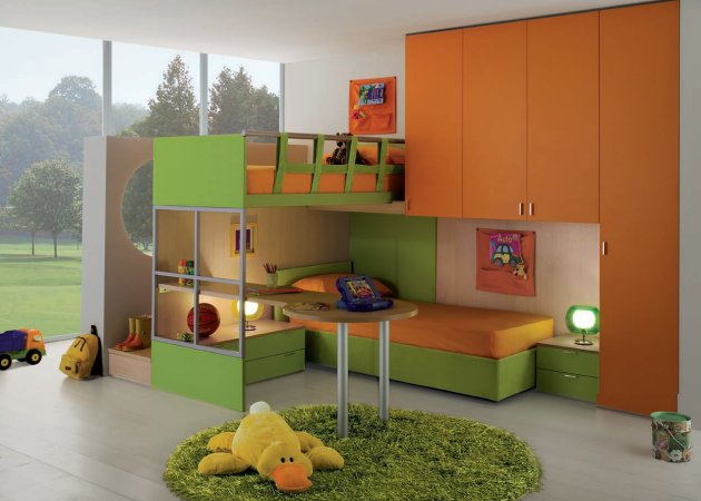 Bedroom , 6 Awesome Childrens Bedrooms : How to Decorate Children's Bedroom