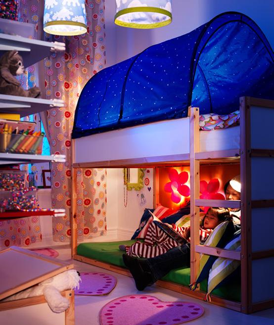 Bedroom , 9 Awesome Ikea Bedrooms For Kids : IKEA kids bedroom design ideas