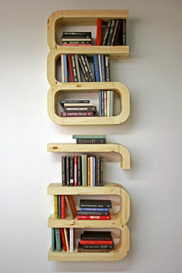 Furniture , 12 Gorgeous Bookshelves Designs : Intellectual Bookshelf Designs