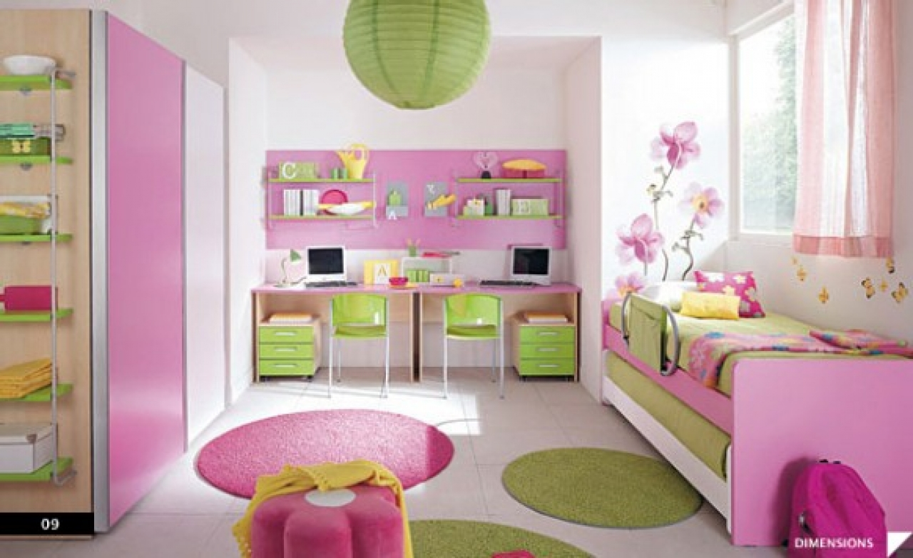 1280x782px 9 Best Kids Bedroom Decorating Ideas For Girls Picture in Bedroom