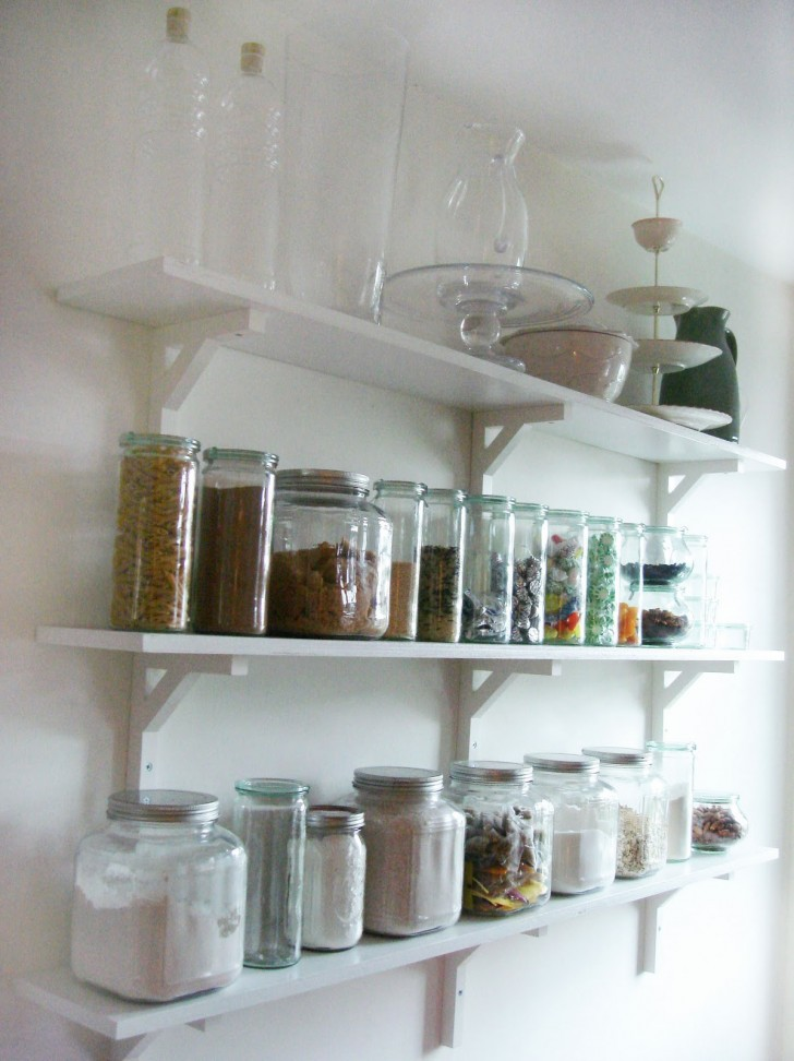 Kitchen , 10 Cool Kitchen Shelves : Kitchen Shelves