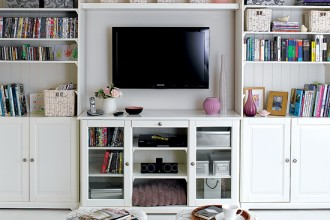 550x550px 10 Awesome Shelving Ideas For Living Room Picture in Living Room