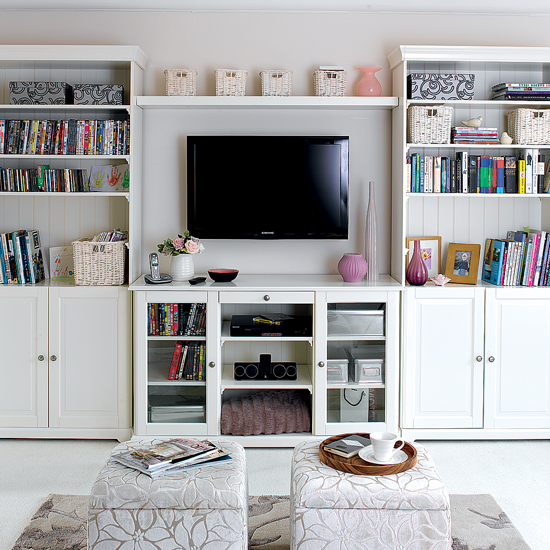 Living Room , 10 Awesome Shelving Ideas For Living Room : Living Room Storage Ideas