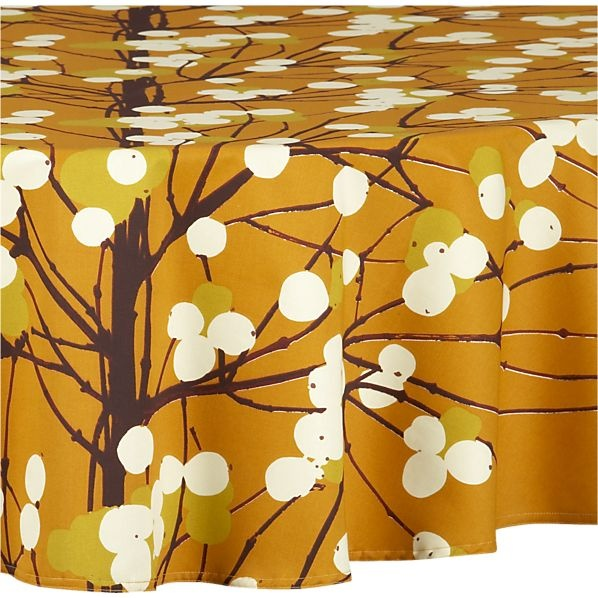 Interior Design , 9 Unique Marimekko Lumimarja Tablecloth : Marimekko Lumimarja Orange