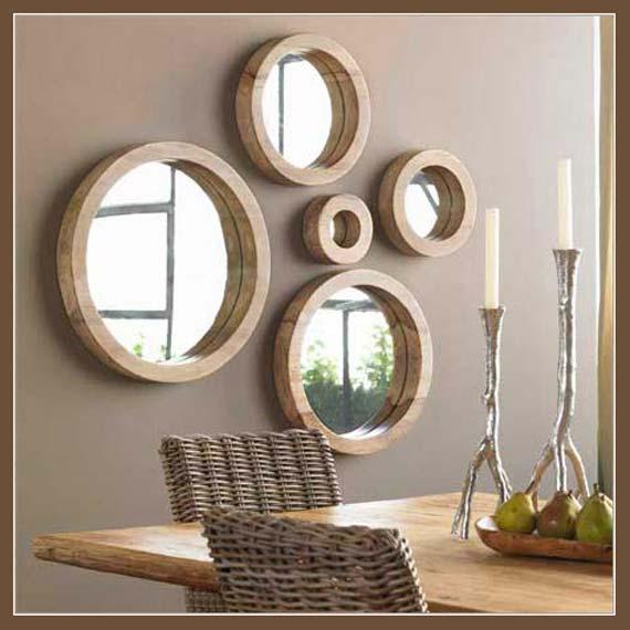 Furniture , 9 Lovely Mirror Wall Decor Ideas : Mirror Decoration Ideas