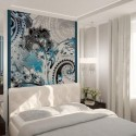 Modern bedroom decorating ideas , 9 Lovely Mirror Wall Decor Ideas In Furniture Category