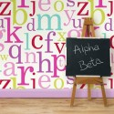 New Alpha Beta wallpaper from Wallpaper Space , 10 Top Childrens Wallpaper Designs In Interior Design Category