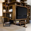 New York City apartment wooden bookcase design ideas , 9 Ultimate Ideas For Bookcases In Furniture Category
