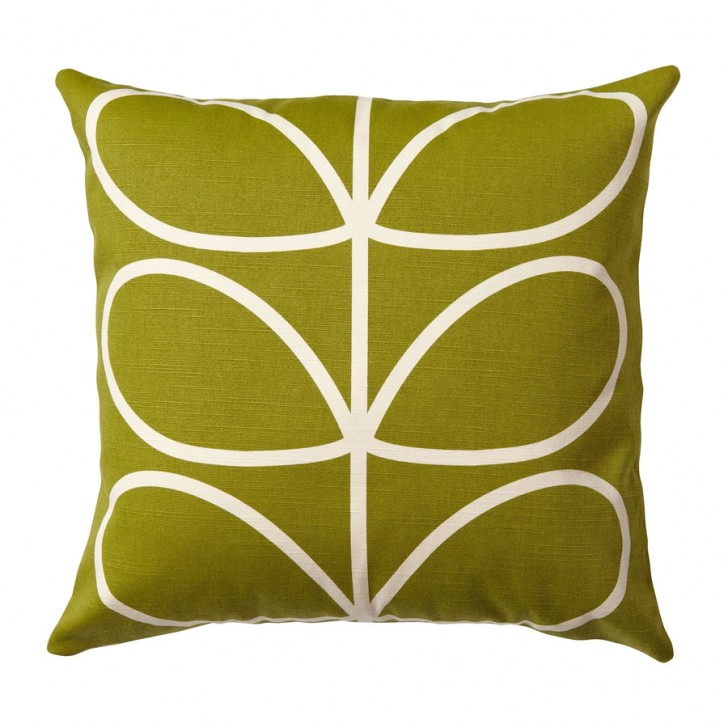 Furniture , 10 Good Orla Kiely Cushion : Orla Kiely Linear Stem Cushion Apple
