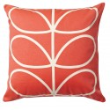 Orla Kiely Linear Stem Cushion Red , 7 Unique Orla Kiely Cushions In Furniture Category