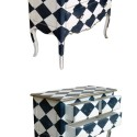 Painted in Harlequin style , 7 Awesome Harlequin Furniture In Furniture Category