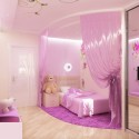 Pink Bedroom Design For A Little Princess , 11 Fabulous Princess Bedrooms For Girls In Bedroom Category