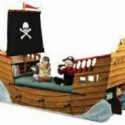 Pirate boat bed for boys room , 10 Ultimate Boat Beds For Boys In Bedroom Category