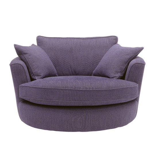 Furniture , 10 Unique Tiny Sofas : Purple loveseat