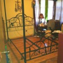 Queen sized canopy bed frame , 8 Popular Forest Canopy Bed Frame In Bedroom Category